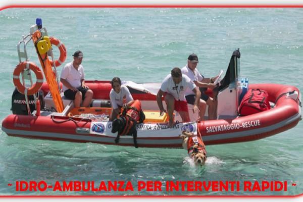 Idro-ambulanze per il soccorso in acqua